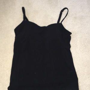Alessandra B Underwire Bra/Camisole Black Size 36B